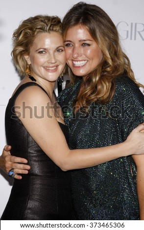 """Nancy Juvonen and Drew Barrymore at the Los Angeles Premiere of """"Whip It"""" held at the Grauman's Chinese Theater in Hollywood, California, United States on September 29, 2009.   - stock photo"""