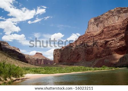 Nankoweap - Grand Canyon - stock photo