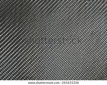 nano carbon composite fiber, texture background - stock photo