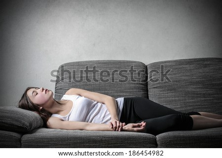 nap - stock photo