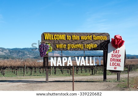 napa valley, Napa County,tourism of usa