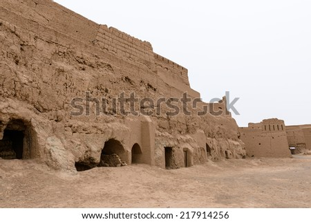Narenj (Narin) Castle, one of the most important relics of the province dating back to the period before the advent of Islam to Iran