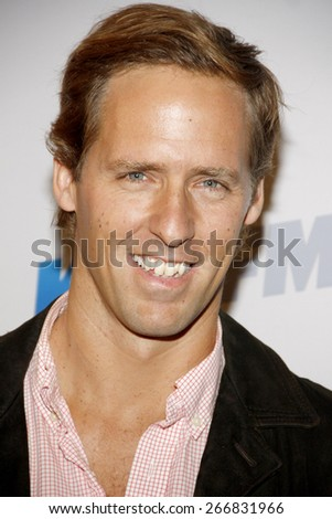 Nat Faxon at the KIIS FM's Jingle Ball 2012 held at the Nokia Theatre LA Live in Los Angeles on December 1, 2012.