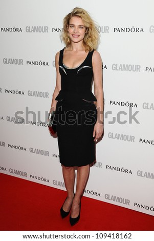 Natalia Vodianova arriving for the Glamour Women Of The Year Awards 2012, at Berkeley Square, London. 29/05/2012 Picture by: Steve Vas / Featureflash - stock photo