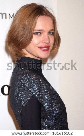 Natalia Vodianova at Guggenheim Young Collectors Council Artist's Ball, Solomon R Guggenheim Museum, New York, NY, December 13, 2007