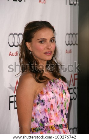 "Natalie Portman at the AFI Fest 2010 Closing Night Gala Screening of ""Black Swan,"" Chinese Theater, Hollywood, CA. 11-11-10"