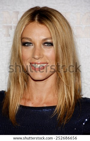 """Natalie Zea at the Premiere Screening of FX's """"Justified"""" held at the Directors Guild of America in Hollywood, California, United States on March 8, 2010.  - stock photo"""