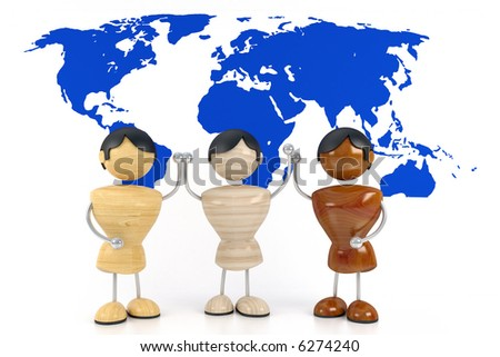 Vector three races as women stock illustration royalty free - Afro Asiatic Stock Photos Royalty Free Images Amp Vectors