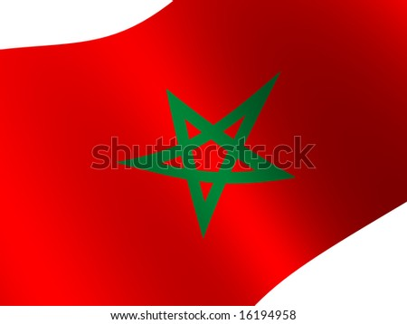 National Flag. Morocco