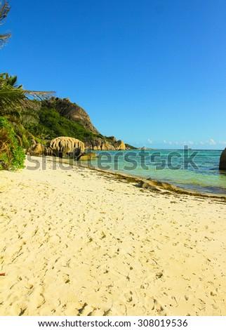 National Park Sunlit Scene  - stock photo
