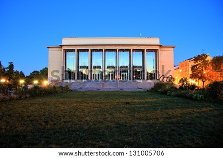 National Theater, Brno, Czech Republic - stock photo
