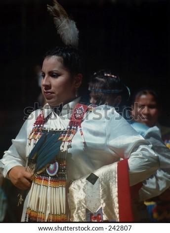 Native American Girls - stock photo