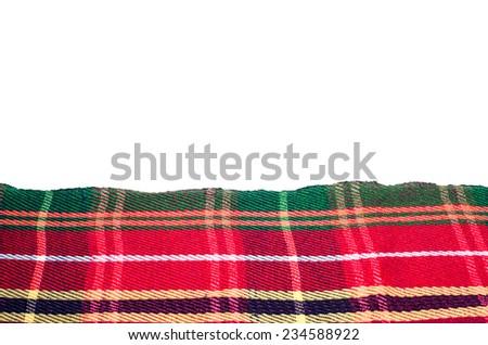 Native blanket in thailand - stock photo