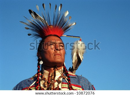 Native Indian - stock photo
