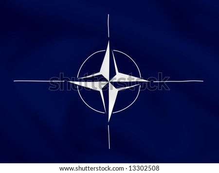 NATO waving flag (can be used how background or wallpaper)