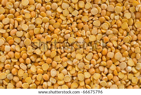 Natural background - dried pea seeds.