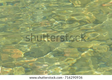 Natural background, stones, water