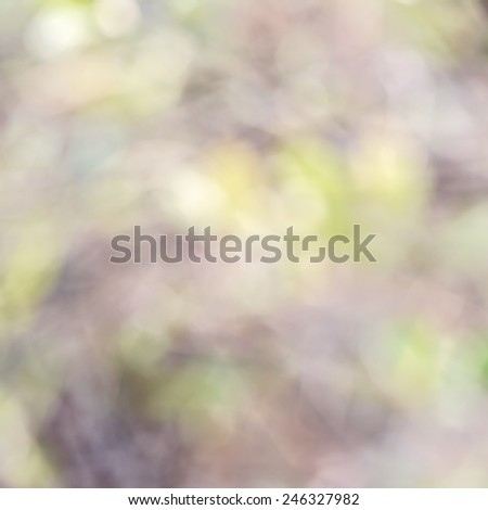 natural backgrounds from lens blur - stock photo