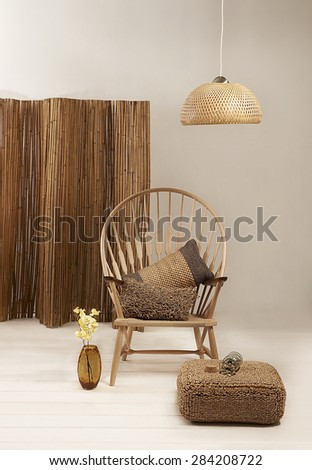 Natural Bamboo Furniture Objects