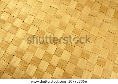 Natural basket weave, texture - stock photo