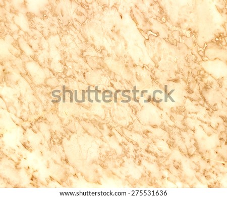 Natural beige marble texture - stock photo