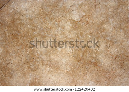 Natural beige marble tile. - stock photo