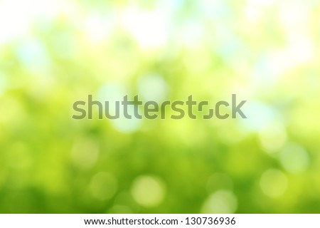 Natural Bokeh,blurred bokeh. - stock photo