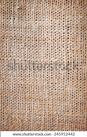 natural canvas texture for background - stock photo