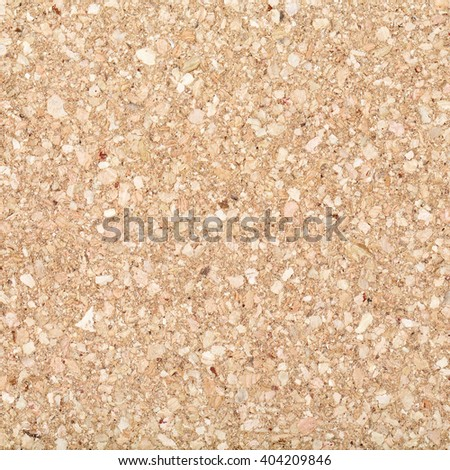 Natural cork texture closeup background for text copy space. Square crop of brown cork bulletin board pattern, for writing copyspace ad for education or written business advertisement concept. - stock photo