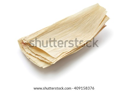 natural corn husks for making tamales