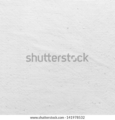 Natural Cotton Fabric Background, Texture - stock photo