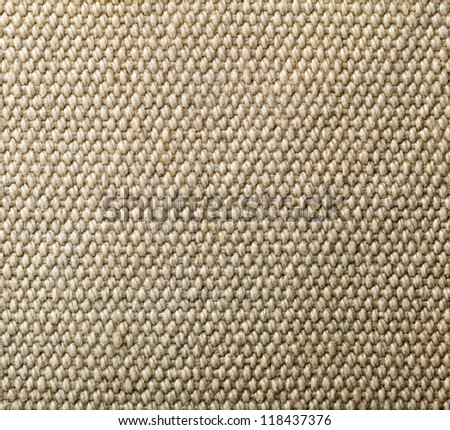 Natural cotton texture for background. Close up - stock photo