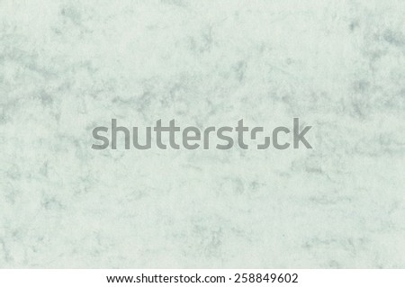 Natural decorative art letter marble paper texture, bright fine textured spotted blank empty copy space background pattern in blue, sea green, seagreen, horizontal, large detailed macro closeup - stock photo