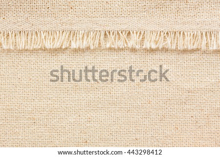 natural fabric linen texture for design or background. sackcloth textured.