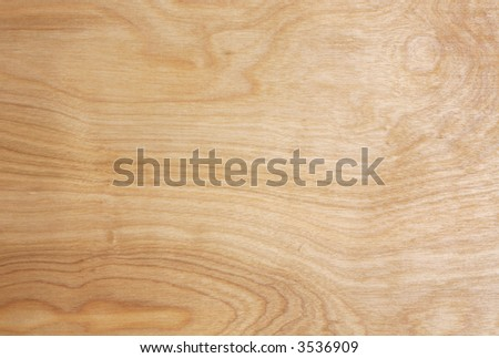 Natural Finish Maple Wood Grain Background