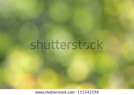 Natural green abstract - stock photo