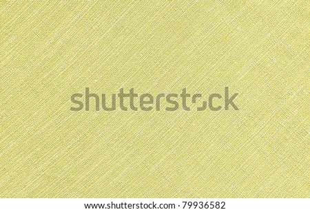 Natural green linen background. - stock photo