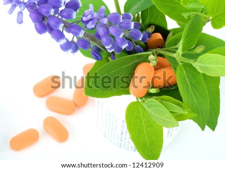 natural healhcare - stock photo