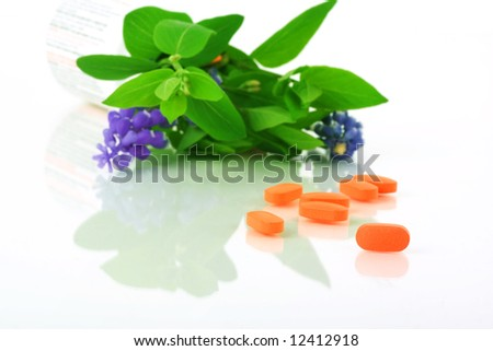 natural healthcare - stock photo