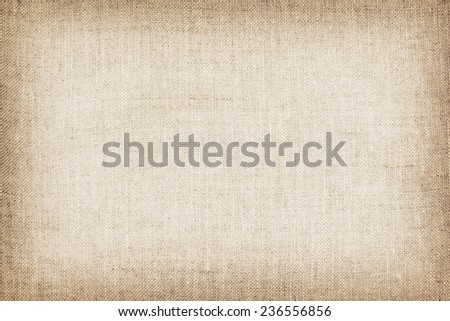 natural linen texture for the background. - stock photo