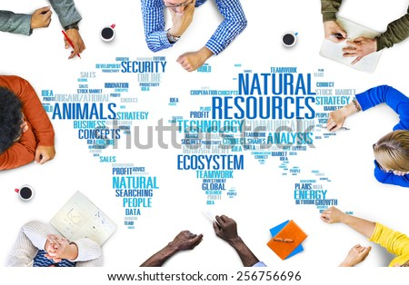 Natural Resources Environmental Conservation Sustainability Concept - stock photo