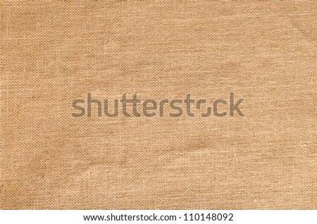 Natural Sack Texture - stock photo