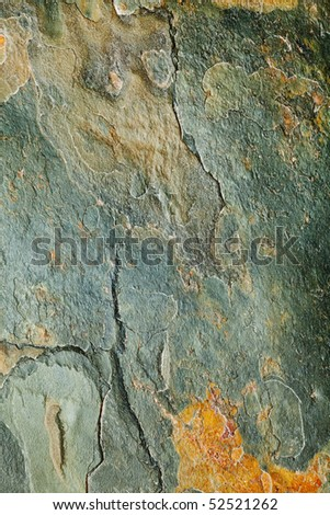 natural slate stone flooring tile abstract background - stock photo