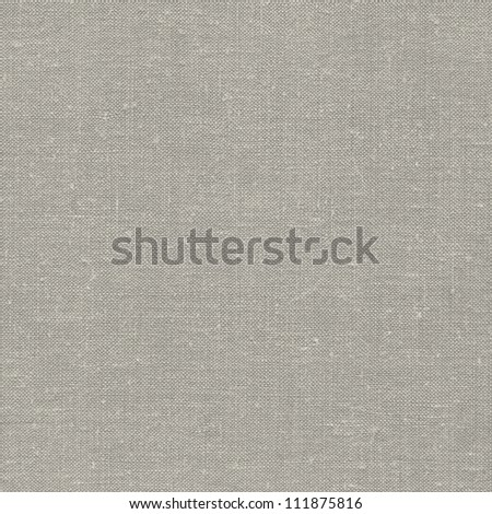 Natural vintage linen burlap textured fabric texture, detailed old grunge rustic background in tan, beige, yellowish, grey copy space canvas burlap - stock photo