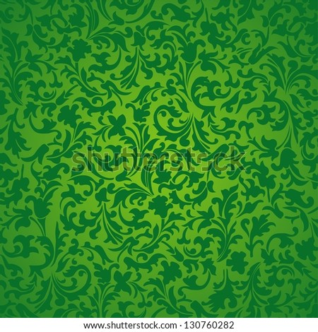 Nature abstract green background. Illustration - stock photo