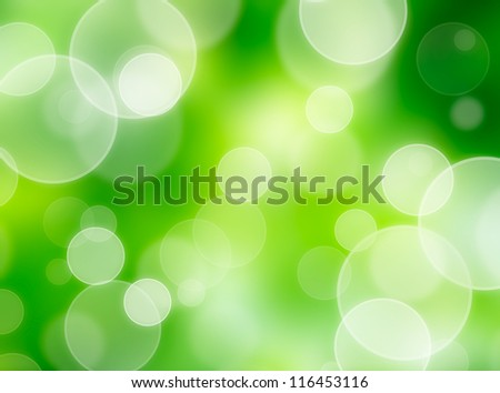 nature bokeh lights - stock photo