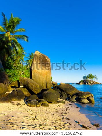 Nature Cove Summer  - stock photo