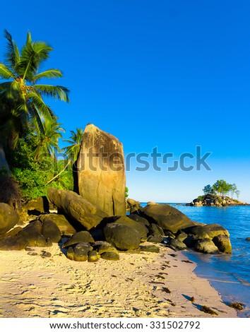 Nature Cove Summer  - stock photo