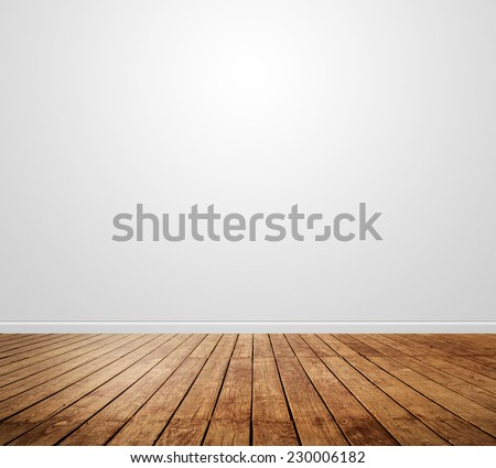nature good Perspective warm wooden floor texture - stock photo