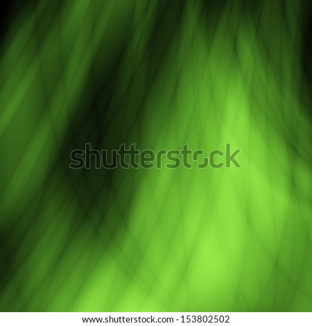 Nature green bio fresh abstract wave grass design